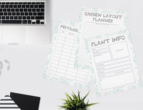 printable garden journal pages